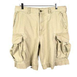 Polo Ralph Lauren Mens Cargo Shorts Beige Size 34